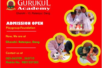 Admissions Open For Play Group and Foundation